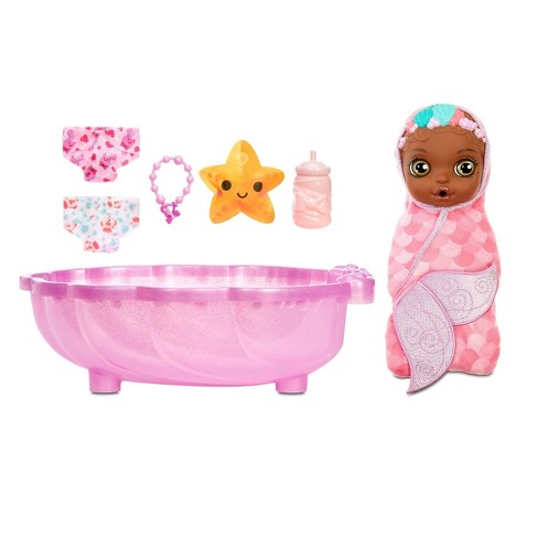 BABY born Mermaid Surprise - Pink Swaddle - image 1 of 4