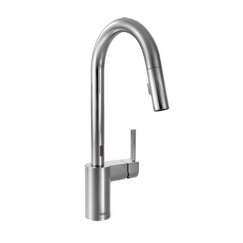 Moen 7565e Align Metal Touchless Pullout Spray High Arc Kitchen Faucet With Spout Swivel Target