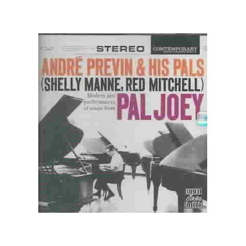 Andre Previn - Shelly Manne & Red Mitchell/Pal Joey (CD) - image 1 of 1
