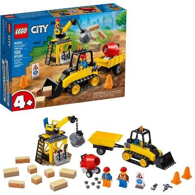 LEGO City Construction Bulldozer Building Set 60252
