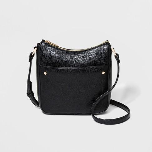Zip Closure Crossbody Bag - A New Day™ - image 1 of 4