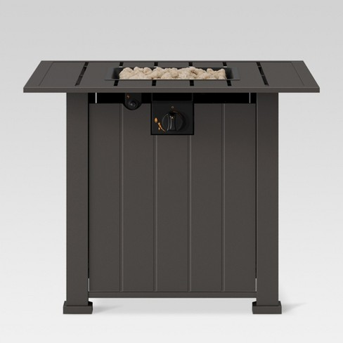 Camden 30 Lp Gas Fire Table Square Threshold