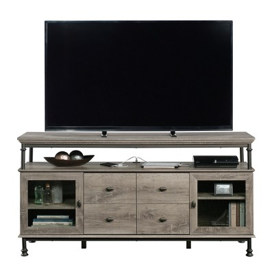 Canal Street Entertainment Credenza for TV's up to 60  Northern Oak Finish - Sauder