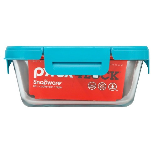 Pyrex Food Storage Container Turquoise - image 1 of 1