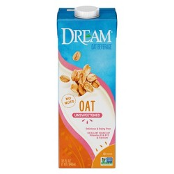Dream Oat Non-Dairy Beverage Unsweetened 32oz