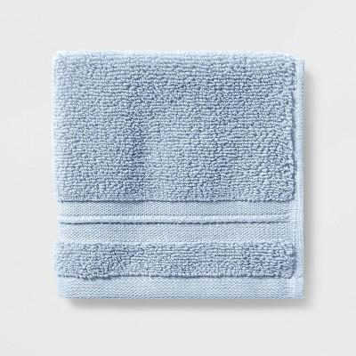 Spa Washcloth Light Blue- Threshold Signature™