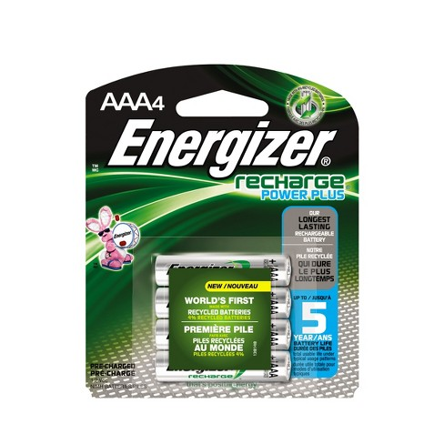 Energizer Recharge Power Plus AAA Batteries 4 Ct NH12BP 4 Target