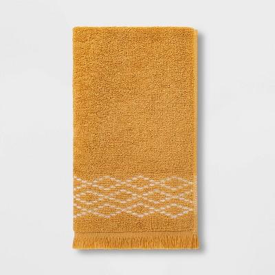 Diamond Weave Hand Towel Gold - Threshold™