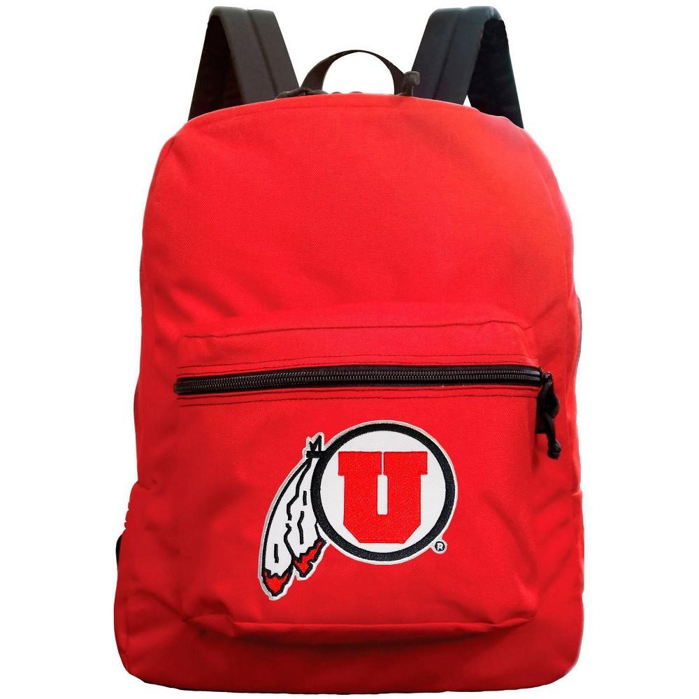 Ncaa Utah Utes Red Premium Backpack