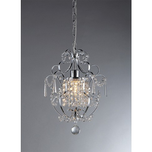 Warehouse Of Tiffany Chandelier Ceiling Lights -Silver - image 1 of 1