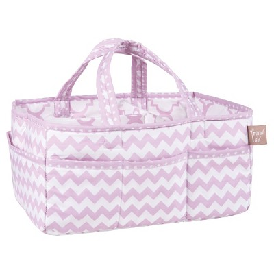 Trend Lab Diaper Storage Caddy - Orchid Bloom