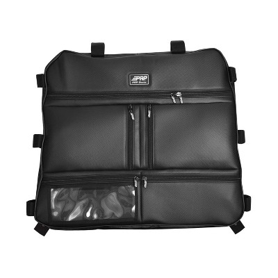 PRP Seats E47-214 Durable Overhead Storage Bag for Polaris RZR with 5 Compartments, Clear View Pocket, and Rubberized Zippers, Black