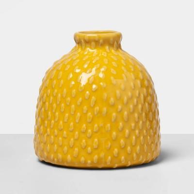 4.2  x 4  Decorative Bud Vase Yellow - Opalhouse™