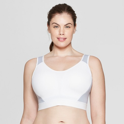 1b24296c22 Women s Plus Size Lightweight Shape Sports Bra - C9 Champion® White ...