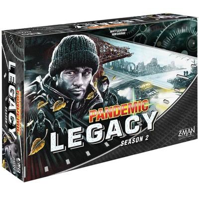 Zman Games Pandemic: Legacy Season 2 (Black Edition) Board Game