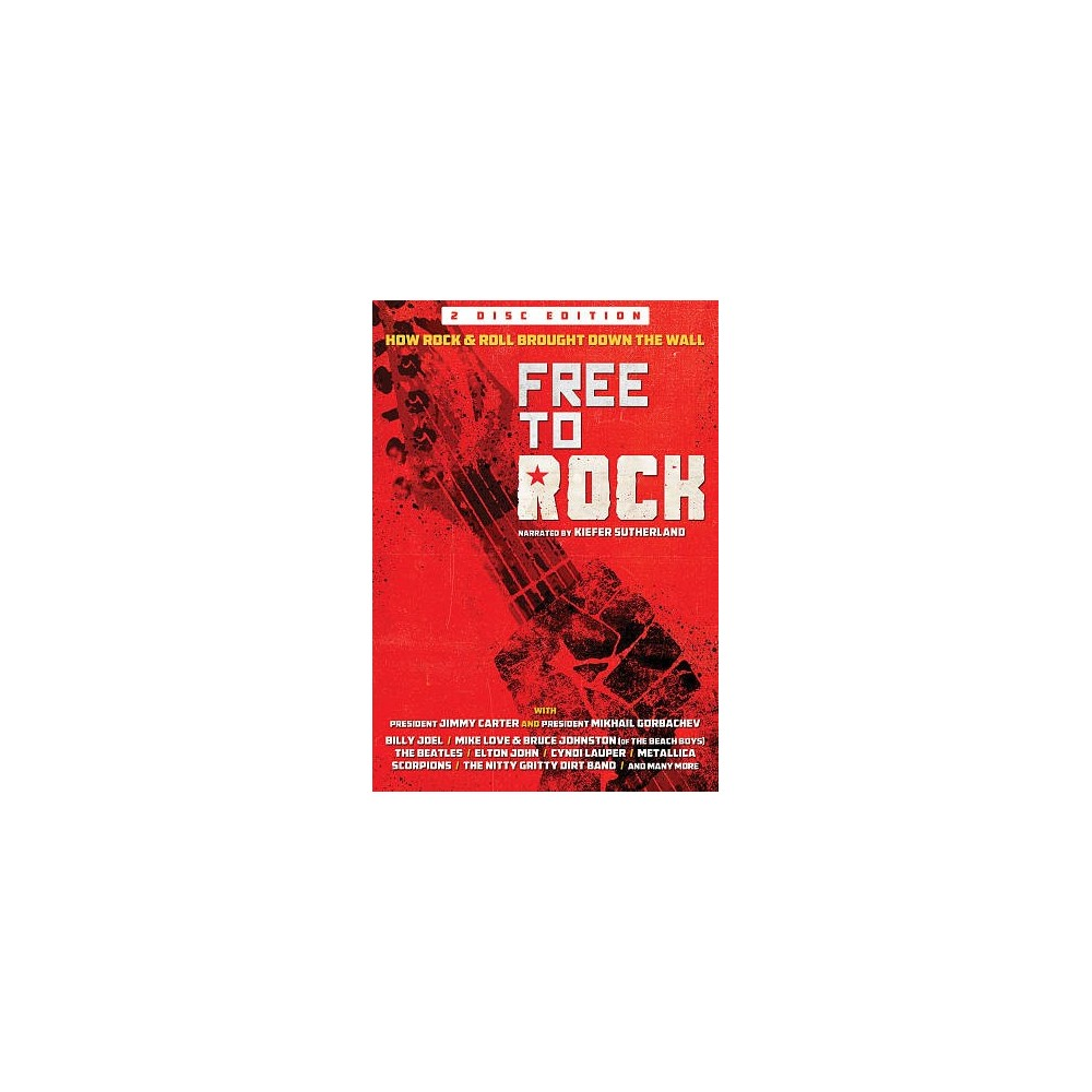 Free To Rock:How Rock & Roll Brought (Dvd)