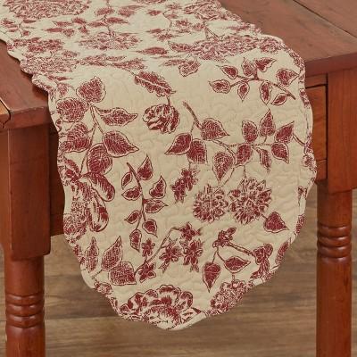 "Park Designs Rustic Floral Table Runner - 54""L"