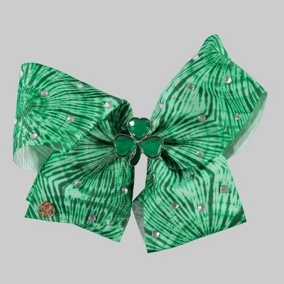 Girls' JoJo Siwa St. Patty's Bow Hair Clip - Green