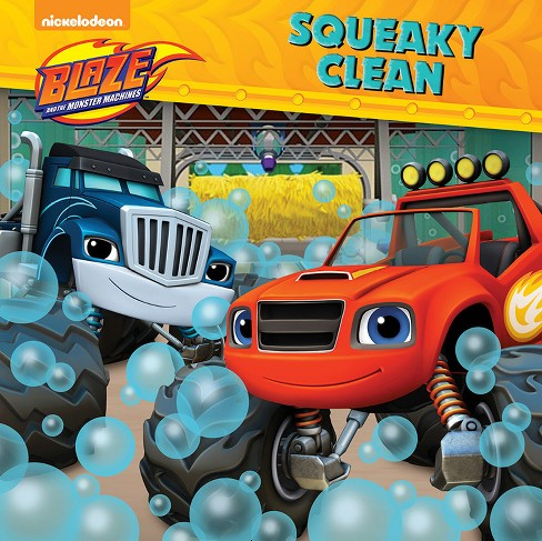 8x8 Storybook Blaze Monster Machine Squeaky Clean - image 1 of 1