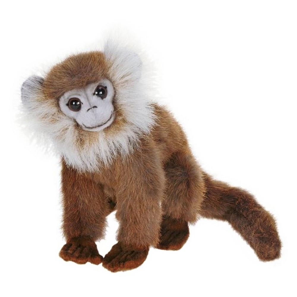 Hansa Gray Leaf Monkey Plush Animal