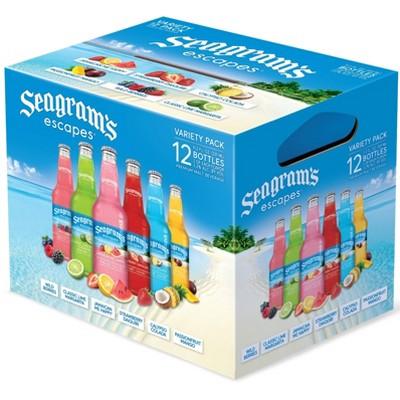 Seagram's Escapes Malt Beverage Variety Pack - 12pk/11.2 fl oz Bottles