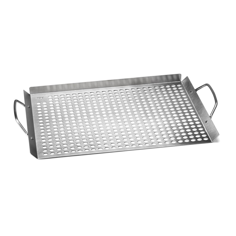 "Image of ""11""""x 17"""" Stainless Steel Grill Grid - Outset"""