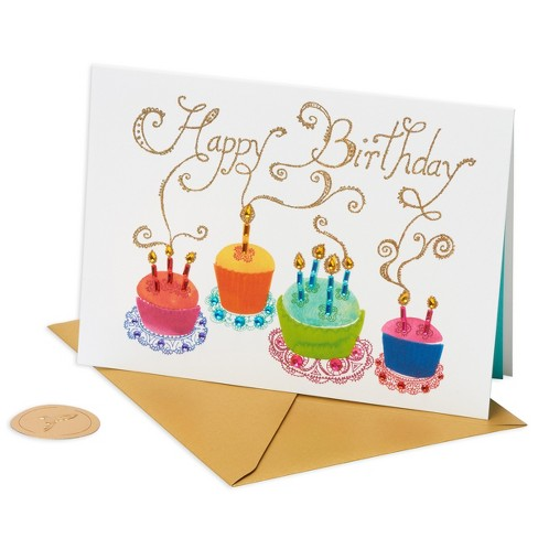 Papyrus Cupcakes Birthday Card Target