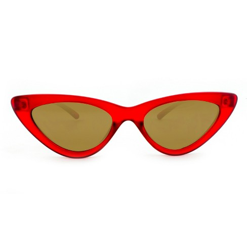 e27b70181a Women s Cateye Sunglasses With Smoke Lenses - Wild Fable™ Poppy Red   Target