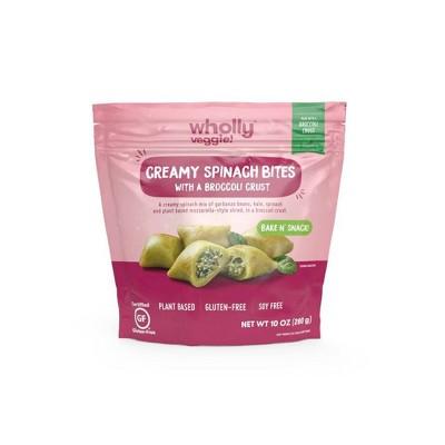 Wholly Veggie! Gluten Free Frozen Creamy Spinach Bites - 10oz