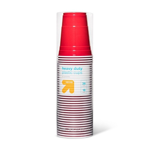 Disposable Red Cups - 18oz - 36ct - Up&Up™ - image 1 of 2