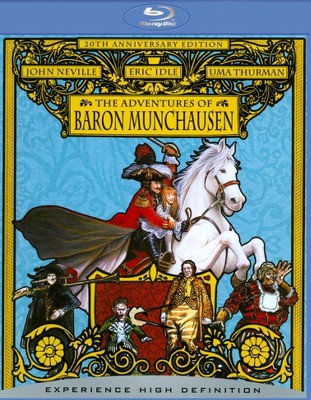 The Adventures Of Baron Munchausen Book