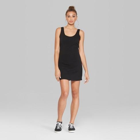 2542fef4f632 Women's Sleeveless Knit Tank Dress - Wild Fable™ : Target