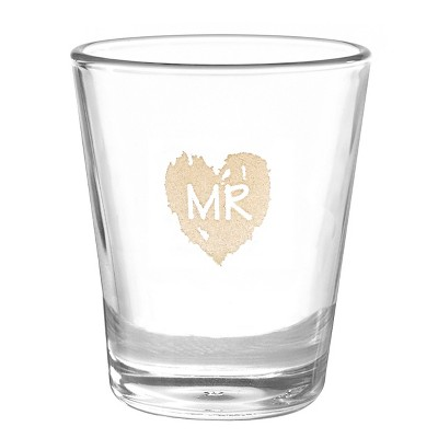 Mr  Wedding Shot Glass