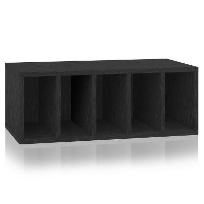 Way Basics Small Eco Stackable Purse Organizer Black