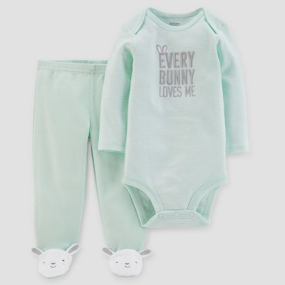 Babys' Every Bunny Bunny Set - Just One You® made by carter's Mint Newborn
