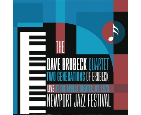 Dave Quarte Brubeck - Two Generations Of Brubeck:Live At Th (CD) - image 1 of 1