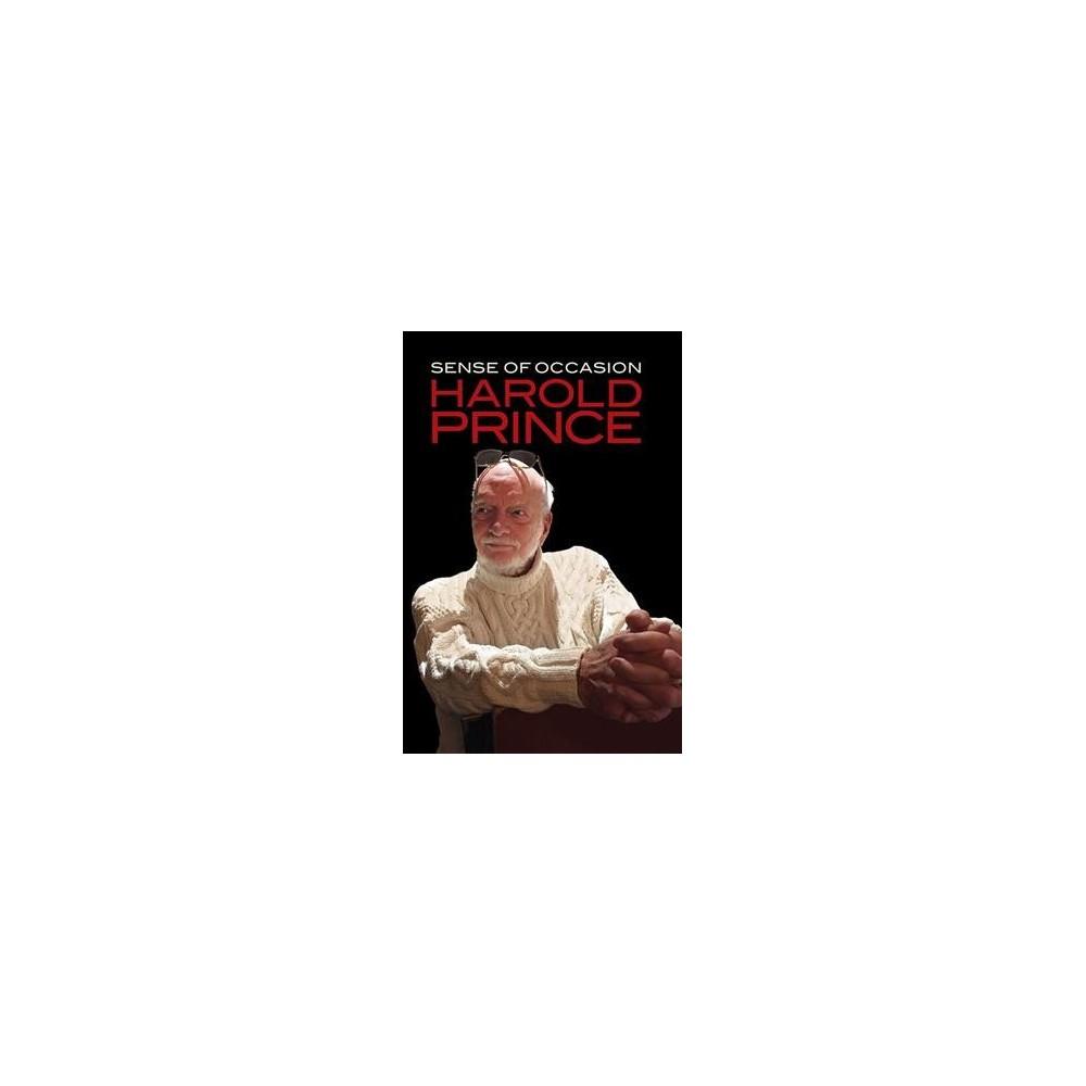 Sense of Occasion (Hardcover) (Harold Prince)