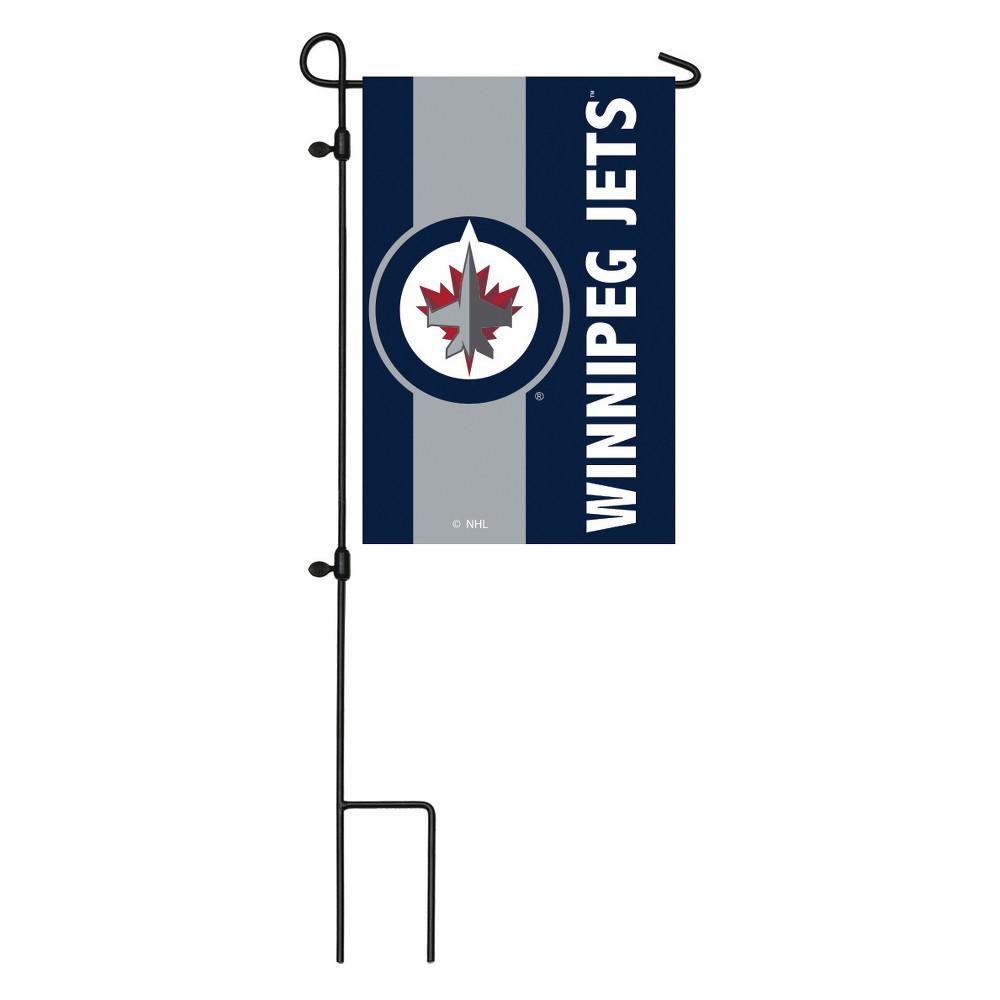 Winnipeg Jets Embellished Garden Flag