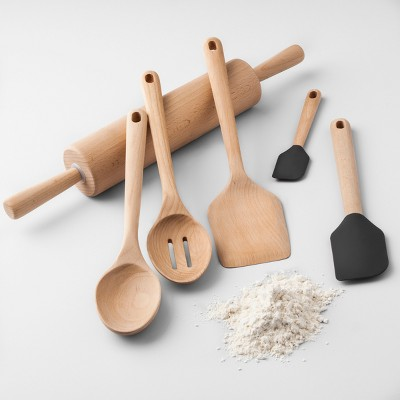 High Quality Beech Wood Kitchen Utensils Collection   Made By Design™