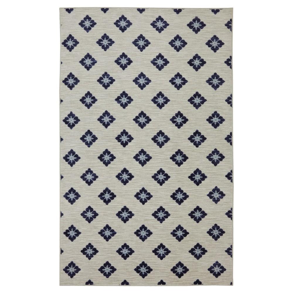 Image of 8'X10' Shapes Area Rug Blue - Mohawk