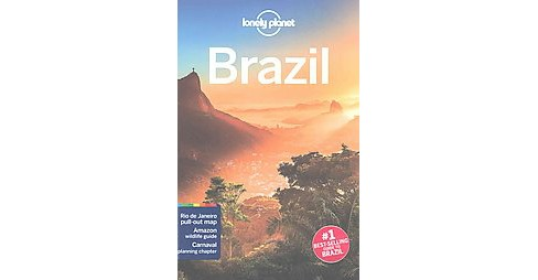 Lonely Planet Brazil (Paperback) (Regis St. Louis) - image 1 of 1