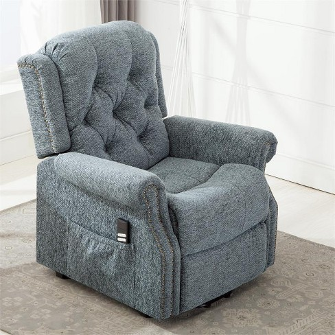 Madison Steel Blue Lift Chair - Comfort Pointe  - image 1 of 4