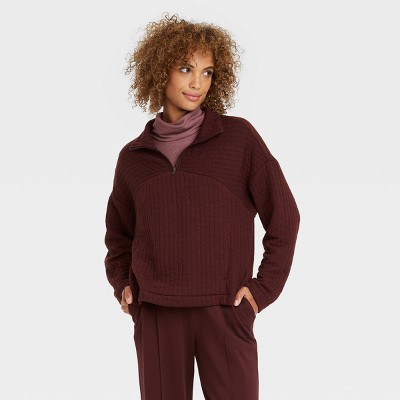 Women's Quarter Zip Sweatshirt - A New Day™