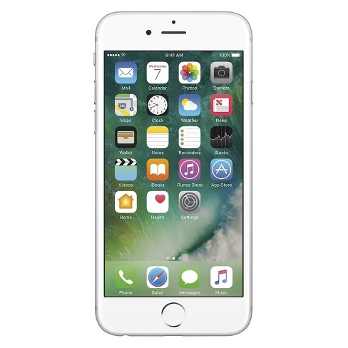 Apple iPhone 6s Certified Pre-Owned (GSM Unlocked) 128GB Smartphone - Silver - image 1 of 2