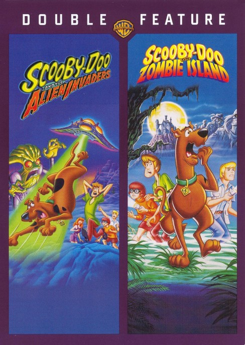 Scooby-Doo and the Alien Invaders/Scooby-Doo on Zombie Island - image 1 of 1