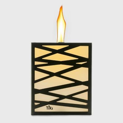 TIKI Square Flame Shield Tabletop Torch - Bronze