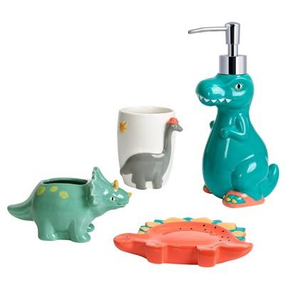 4pc Dinosaur Bath Set - Allure Home Creations