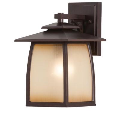 Generation Lighting Wright House 1 light Sorrel Brown Outdoor Fixture OL8501SBR