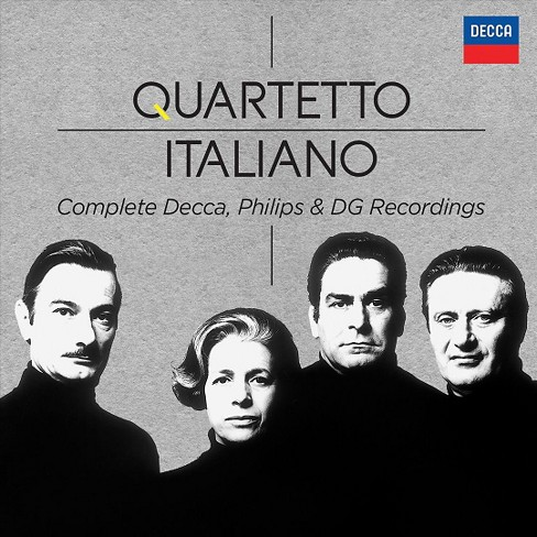 Quartetto italiano - Quartetto italiano:Comp philips & dec (CD) - image 1 of 1