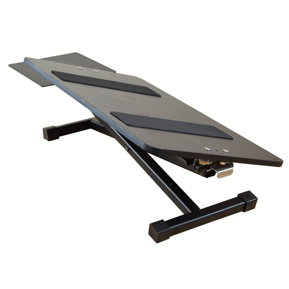 Image of Adjustable Height Computer Keyboard Stand Black - Uncaged Ergonomics